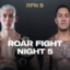 Roar Fight Nights 5 | Saturday 3 April 2021